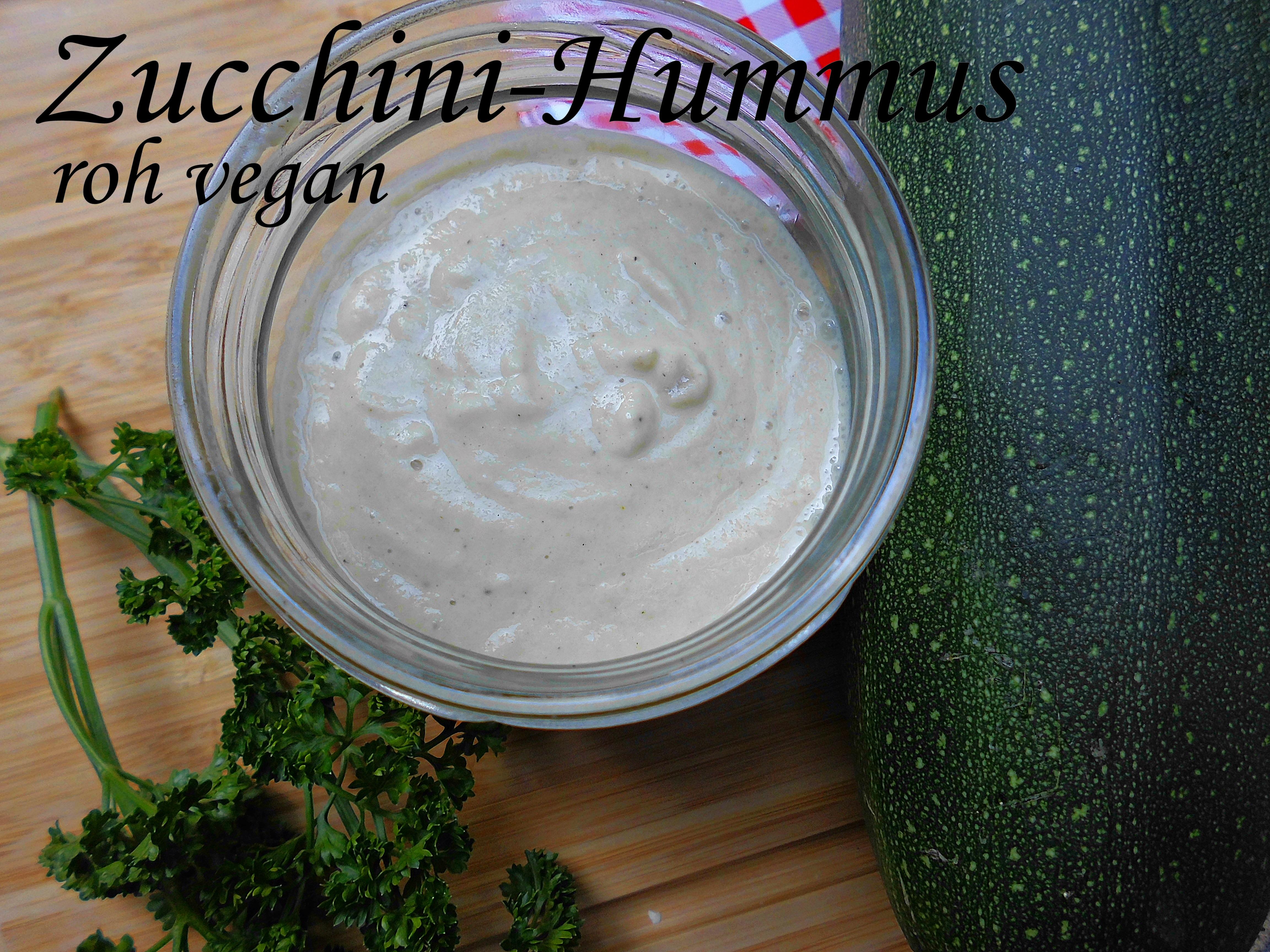zucchini-hummus – nordisch roh