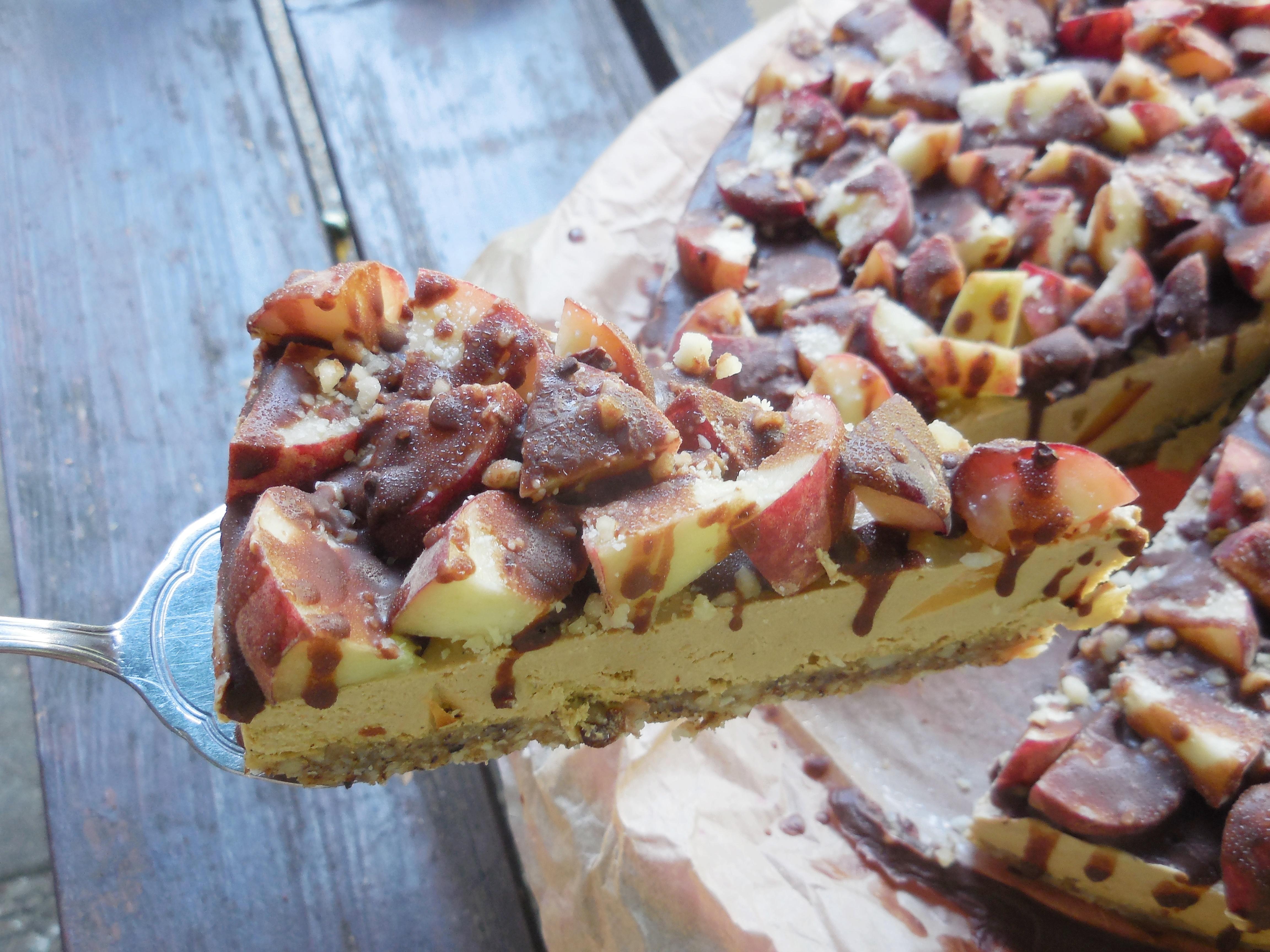 Pfirsich Torte Nordisch Roh