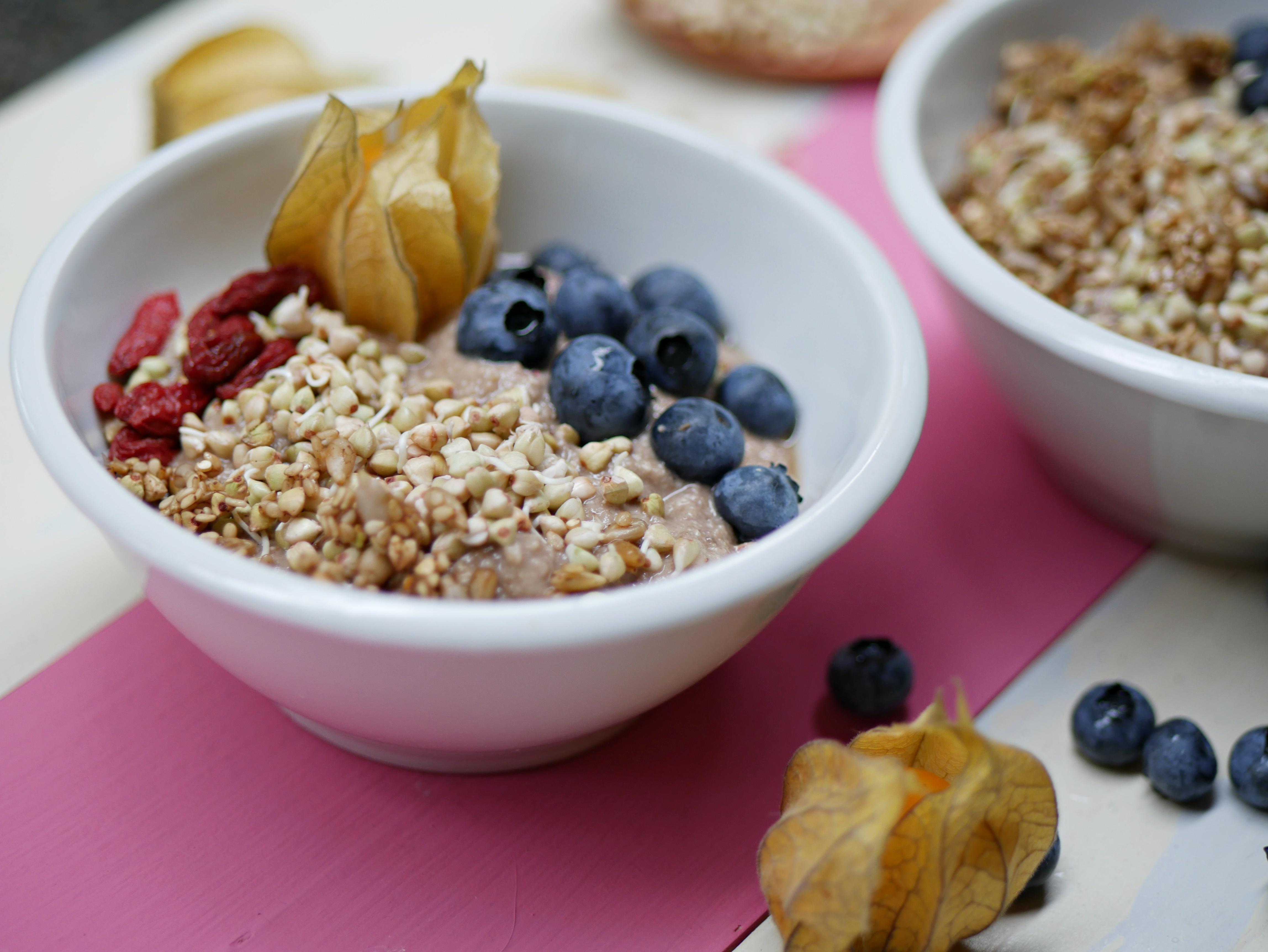 Maroni Porridge Das Perfekte Rohkost Frühstück Für Die Ganze